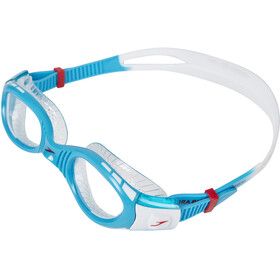 speedo Futura Biofuse Flexiseal Goggle Junior White/Turquoise/Clear